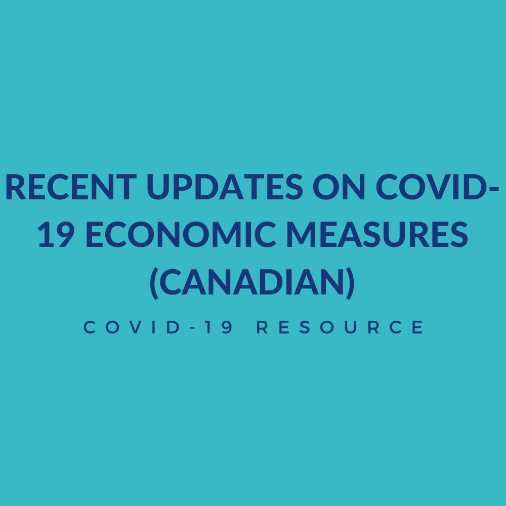 Recent Updates on COVID-19 Measures