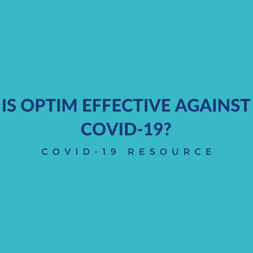Is Optim Effective Against Covid-19?