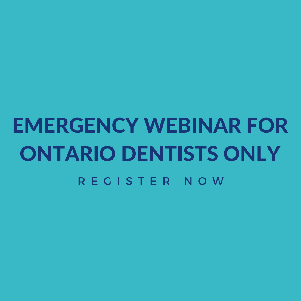 Emergency-WEbinar-For-Ontario-Dentists-Only